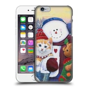 Official Christmas Mix Pets Jenny Newland Winter Wonder Pals Hard Back Case For Apple Iphone 6 / 6S