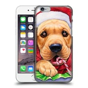 Official Christmas Mix Pets Jenny Newland Santa? Hard Back Case For Apple Iphone 6 / 6S