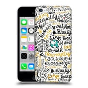 Official Pom Graphic Design Typography Positive Messages Hard Back Case For Apple Iphone 5C