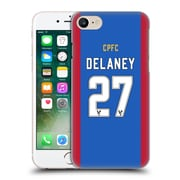 Official Crystal Palace Fc 2016/17 Players Home Kit Damien Delaney Hard Back Case For Apple Iphone 7