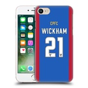 Official Crystal Palace Fc 2016/17 Players Home Kit Connor Wickham Hard Back Case For Apple Iphone 7
