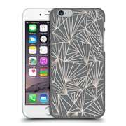 Official Project M Abstract Fan Grey And Nude Hard Back Case For Apple Iphone 6 / 6S