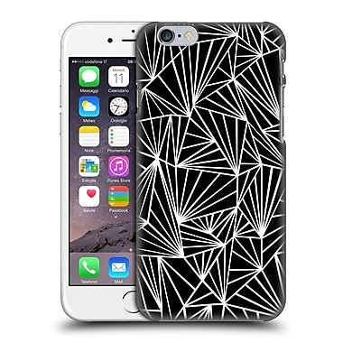 Official Project M Abstract Fan Black Hard Back Case For Apple Iphone 6 / 6S