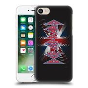 Official Def Leppard Logo Union Jack 2 Hard Back Case For Apple Iphone 7