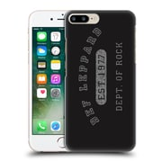 Official Def Leppard Design Dept.Of Rock Hard Back Case For Apple Iphone 7 Plus