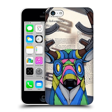 Official Ric Stultz Animals Head Full A Violence Hard Back Case For Apple Iphone 5C