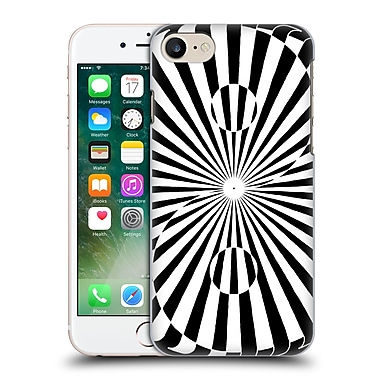 Official Peter Barreda Black And White Mandalas Zahying Hard Back Case For Apple Iphone 7