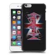 Official Def Leppard Logo Union Jack 2 Hard Back Case For Apple Iphone 6 Plus / 6S Plus