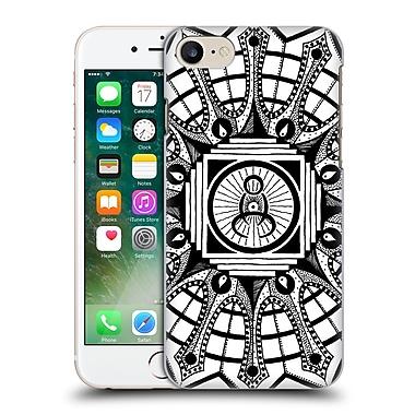 Official Peter Barreda Black And White Mandalas Tizah Zenji Hard Back Case For Apple Iphone 7