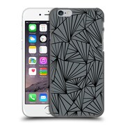 Official Project M Abstract Fan Grey And Black Hard Back Case For Apple Iphone 6 / 6S