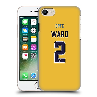 Official Crystal Palace Fc 2016/17 Players Away Kit Joel Ward Hard Back Case For Apple Iphone 7
