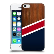 Official Nicklas Gustafsson Textures Wooden New England Hard Back Case For Apple Iphone 5 / 5S / Se