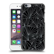 Official Project M Abstract Fan Black And Grey Hard Back Case For Apple Iphone 6 / 6S