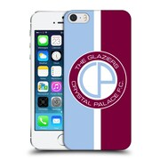Official Crystal Palace Fc 2016/17 Retro Badge Glaziers Logo Hard Back Case For Apple Iphone 5 / 5S / Se