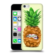 Official Paul Fuentes Pastels Pineapple Braces Sq Hard Back Case For Apple Iphone 5C