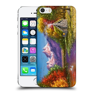Official Chuck Black Cabin Autumn'S Perfection Hard Back Case For Apple Iphone 5 / 5S / Se