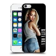 Official Rita Ora Key Art Calendar February Hard Back Case For Apple Iphone 5 / 5S / Se