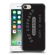 Official Def Leppard Design Dept.Of Rock Hard Back Case For Apple Iphone 7