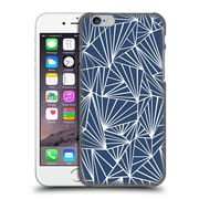 Official Project M Abstract Fan Navy Hard Back Case For Apple Iphone 6 / 6S