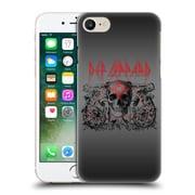 Official Def Leppard Design Skull Target Hard Back Case For Apple Iphone 7