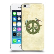 Official Rachel Caldwell Love And Peace Talks Hard Back Case For Apple Iphone 5 / 5S / Se