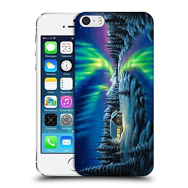 Official Chuck Black Cabin Make A Wish Hard Back Case For Apple Iphone 5 / 5S / Se