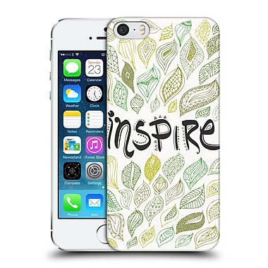 Official Pom Graphic Design Typography Inspire Hard Back Case For Apple Iphone 5 / 5S / Se
