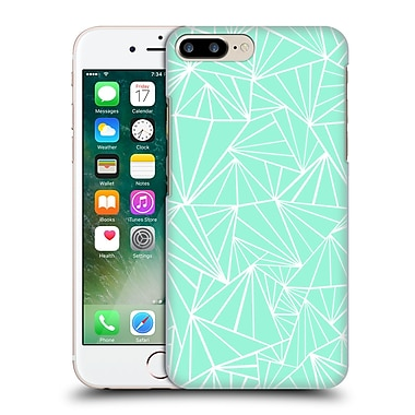 Official Project M Abstract Fan Mint Hard Back Case For Apple Iphone 7 Plus