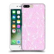 Official Project M Abstract Fan Pink Hard Back Case For Apple Iphone 7 Plus