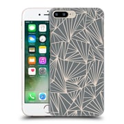 Official Project M Abstract Fan Grey And Nude Hard Back Case For Apple Iphone 7 Plus