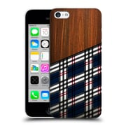 Official Nicklas Gustafsson Textures Wooden Scottish Tartan Hard Back Case For Apple Iphone 5C