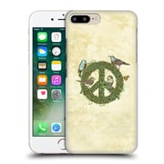 Official Rachel Caldwell Love And Peace Talks Hard Back Case For Apple Iphone 7 Plus