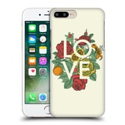 Official Rachel Caldwell Love And Peace Floral Hard Back Case For Apple Iphone 7 Plus