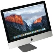 "Apple Refurbished iMac Desktop Computer, 21.5"", Desktop, 500GB, Mac OS X 10.12 Sierra, Silver (MB950/C2D/3.06/4GB/500GB)"