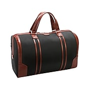 "McKleinUSA U Series KINZIE 20.5"" Black Carry-On Duffel Bag (78195)"