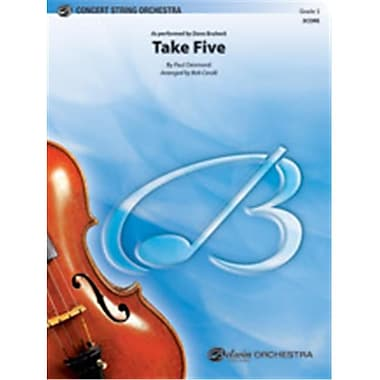 Alfred Take Five - String Orchestra (LFR8477)