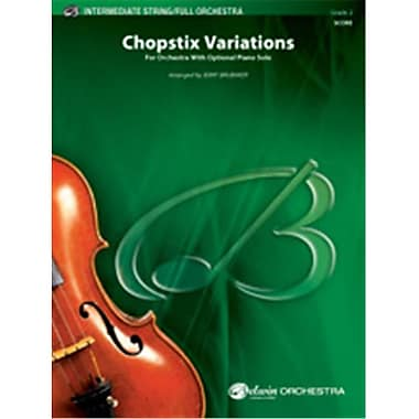 Alfred Chopstix Variations with Opt. Piano Solo (LFR6563)