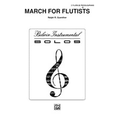 Alfred March for Flutists (LFR4648)