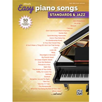 Alfred Alfreds Easy Piano Songs - Standards