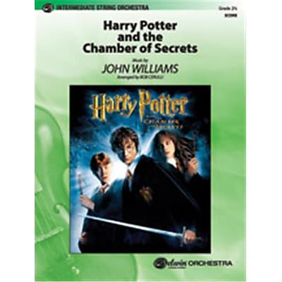 Alfred Harry Potter & the Chamber of Secrets, Themes From - Conductor Score (LFR8628)