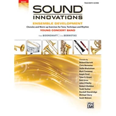 Alfred Sound Innovations for Concert Band - Ensemble Development for Young Concert Band - Score (LFR393)