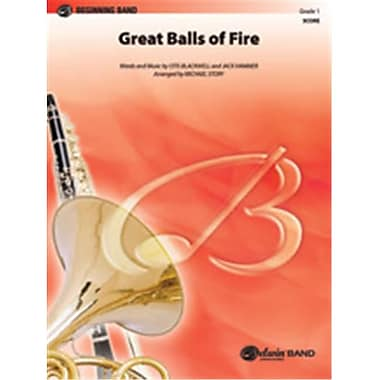 Alfred Great Balls of Fire - Conductor Score (LFR8602)