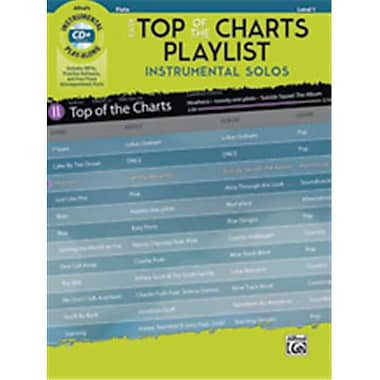 Alfred Easy Top of the Charts Playlist Instrumental Solos - Flute (LFR5554)