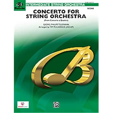 Alfred Concerto for String Orchestra (LFR1222)
