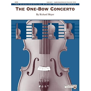Alfred The One-Bow Concerto - Conductor Score (LFR186)