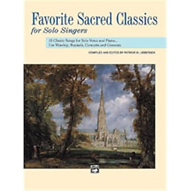 Alfred Favorite Sacred Classics for Solo Singers - Music Book (ALFRD48980)