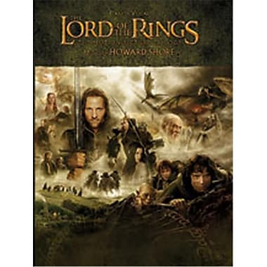 Alfred The Lord of the Rings Trilogy - Music Book (ALFRD42722)