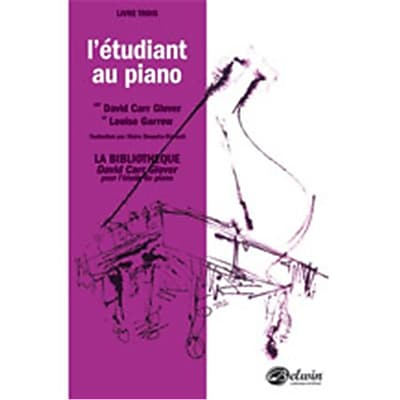 Alfred Piano Student French Edition, Level 3