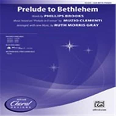 Alfred Prelude to Bethlehem - Choral Octavo (LFR3547)