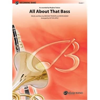 Alfred All About That Bass - Conductor Score & Parts (LFR1479)
